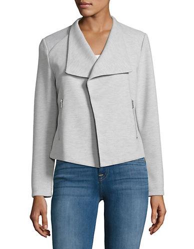 Calvin Klein Textured Flyaway Jacket 90086615