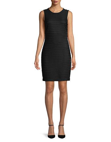 Calvin Klein Sheer Stripe Dress 89990556