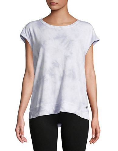 Calvin Klein Performance Lace-Up Back Tie-Dyed Tee 90119003