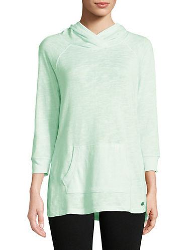 Calvin Klein Performance Quarter-Sleeve Hoodie-MINT-X-Small 90071517_MINT_X-Small