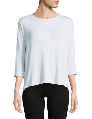 Calvin Klein Performance Quarter-Sleeve Hi-Lo Pullover 90071498