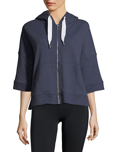 Calvin Klein Performance Full-Zip Hooded Jacket-BLUE-X-Large 90071428_BLUE_X-Large