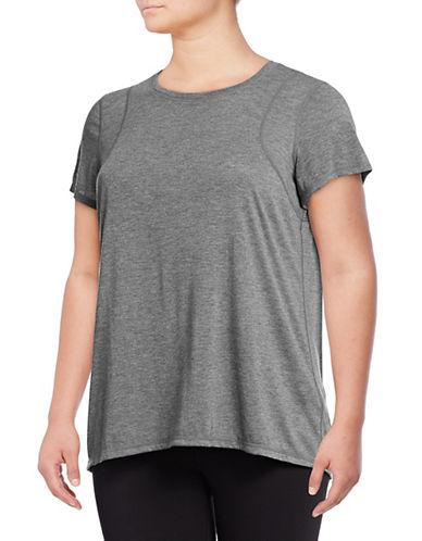 Calvin Klein Performance Plus Pleat Back Short-Sleeve Tee 90077110