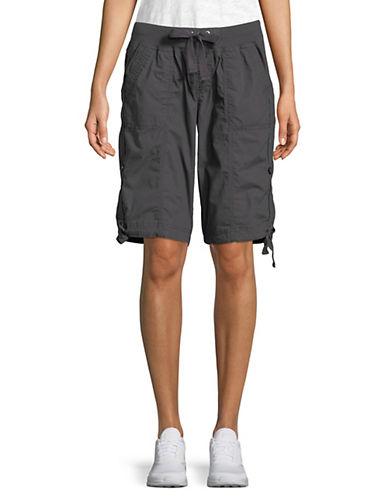 Calvin Klein Performance Convertible Cargo Bermuda Shorts-GREY-X-Large 90071496_GREY_X-Large