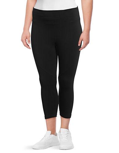 Calvin Klein Performance Plus High-Waist Cropped Leggings-BLACK-3X 90077146_BLACK_3X