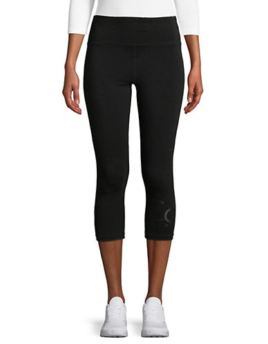 Calvin Klein Performance High-Waist Cropped Leggings-BLACK-Small 90071480_BLACK_Small