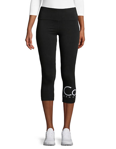 Calvin Klein Performance High-Waist Cropped Leggings-BLUE-Small 90071485_BLUE_Small
