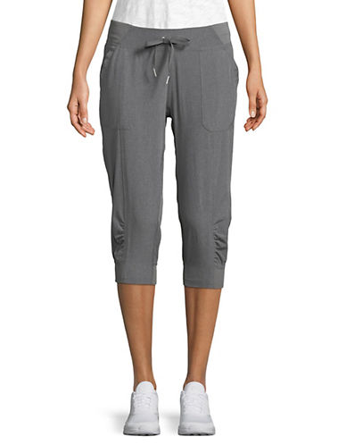 Calvin Klein Performance Cuffed Capri Pants-GREY-Small 90071440_GREY_Small