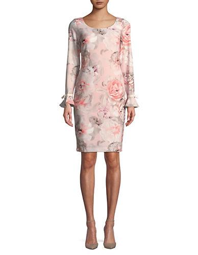 Calvin Klein Floral Ruffled Cuff Dress 89925288