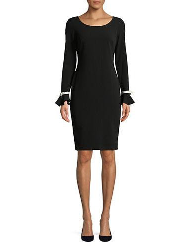 Calvin Klein Ruffled Cuff Shift Dress 89925298