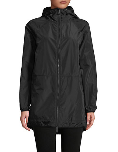 Calvin Klein Performance Walker Length Packable Hooded Jacket-BLACK-Large 90071432_BLACK_Large