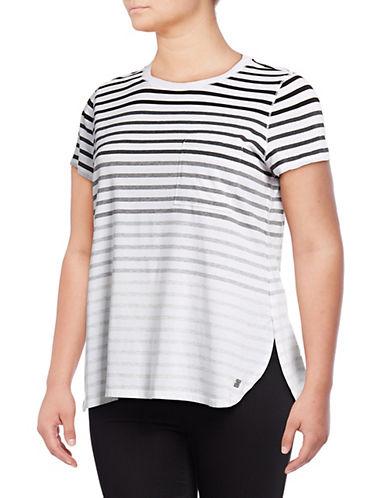 Calvin Klein Performance Plus Striped Short-Sleeve Tee 90119132