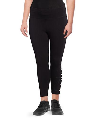 Calvin Klein Performance Plus Plus Logo Cropped Leggings 89846260