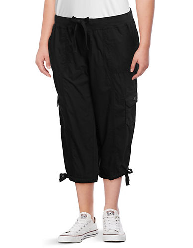 Calvin Klein Performance Plus Cotton Cropped Cargo Pants 89846244