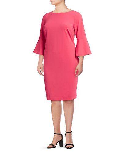 Calvin Klein Plus Solid Sheath Dress 90016833