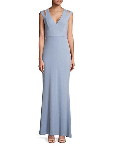 Calvin Klein Cutout Strap Jersey Gown 89934341