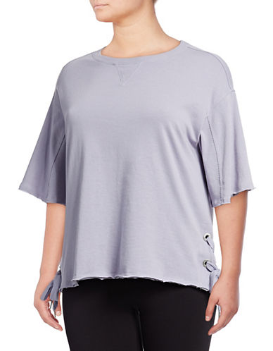 Calvin Klein Performance Plus Plus Side Lace-Up Pullover 89846264