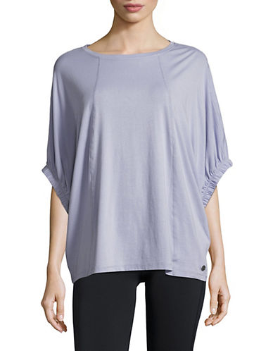 Calvin Klein Performance Oversize Cuff Top-BLUE-X-Small 89959963_BLUE_X-Small