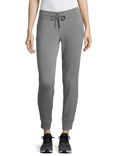 Calvin Klein Performance Ankle-Length Jogger Pants-GREY-Medium