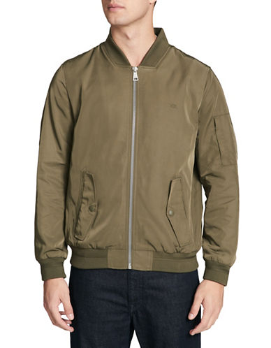 Calvin Klein Flight Zip-Front Jacket-GREEN-Small 89821331_GREEN_Small