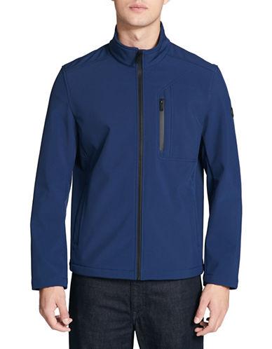 Calvin Klein Soft Shell Zip-Front Jacket-BLUE-XX-Large 89821311_BLUE_XX-Large