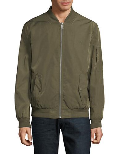 Calvin Klein Prato Twill Bomber Jacket-GREEN-Small 90009517_GREEN_Small