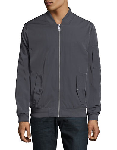 Calvin Klein Prato Twill Bomber Jacket-BLUE-Small 90009522_BLUE_Small