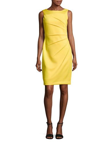 Calvin Klein Sleeveless Starburst Crepe Sheath Dress 89760688