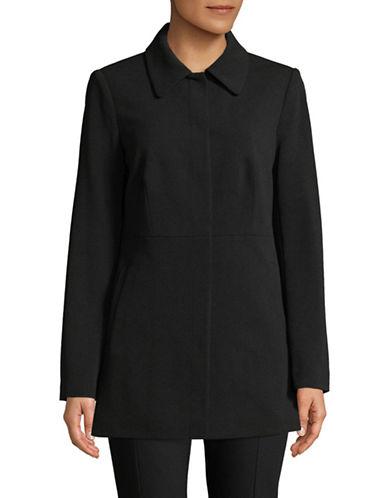 Calvin Klein Front Snap Jacket-BLACK-8