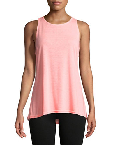 Calvin Klein Performance Dropped Armhole Tank Top-PINK-Medium