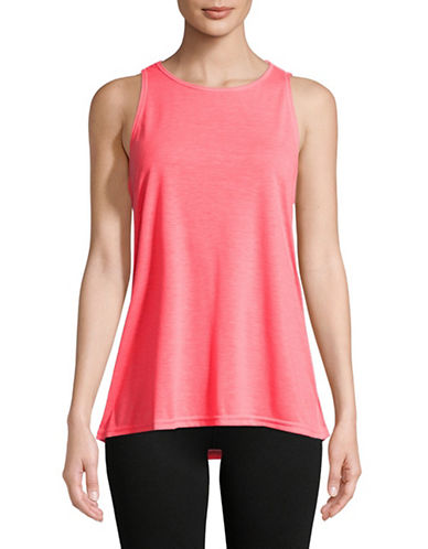 Calvin Klein Performance Dropped Armhole Tank Top-RED-Small 89746481_RED_Small