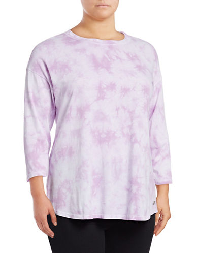 Calvin Klein Performance Plus Plus Asteroid Top-PURPLE-2X