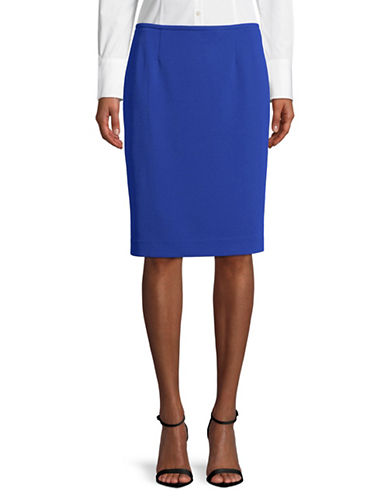 Calvin Klein Classic Pencil Skirt-REGATTA-8