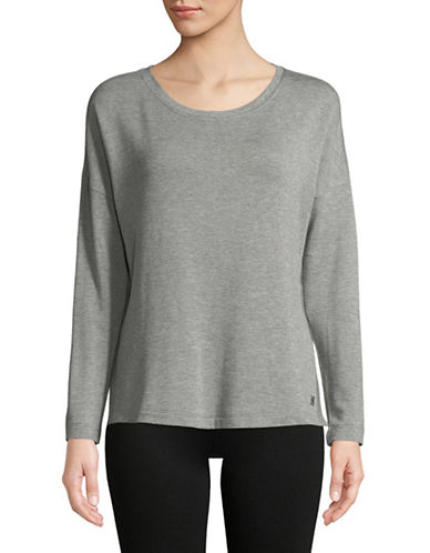Calvin Klein Performance Long-Sleeve Top-GREY-X-Large 89713159_GREY_X-Large