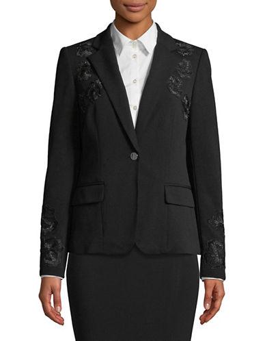 Calvin Klein Floral Jacket-BLACK-14