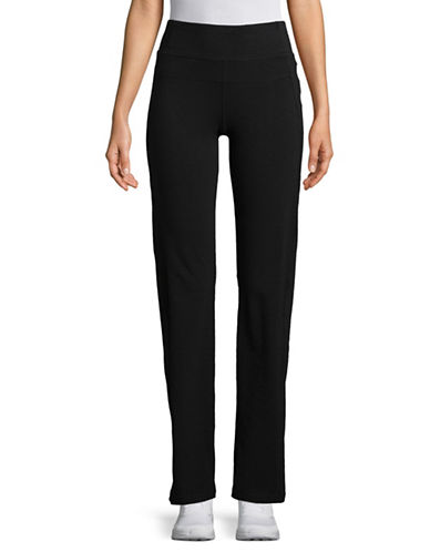 Calvin Klein Performance High-Waist Narrow Straight Leggings-BLACK-Medium 89883390_BLACK_Medium