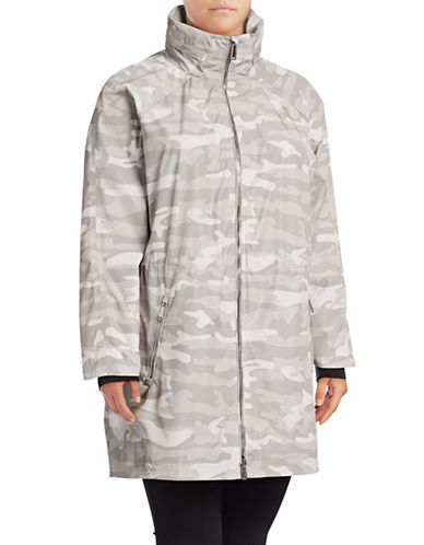 Calvin Klein Performance Plus lus Spectator Walker Jacket-BEIGE-2X