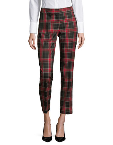 Tommy Hilfiger Cropped Pants-RED-4