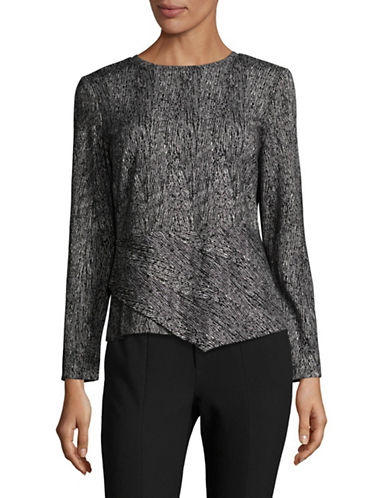 Calvin Klein Jacquard Angle Bottom Top-GREY-Small 89600270_GREY_Small
