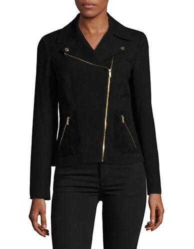 Calvin Klein Moto Jacket-BLACK-12