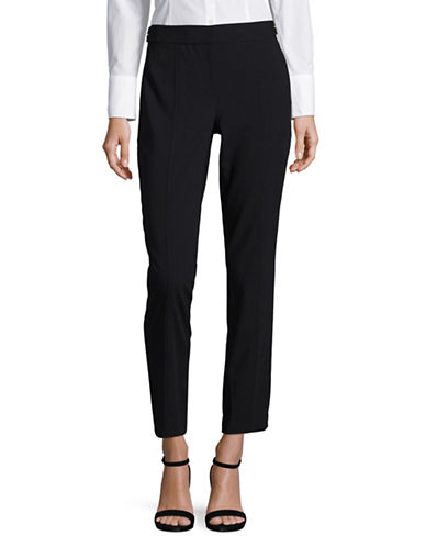 Calvin Klein Lux Cropped Pants-BLUE-2