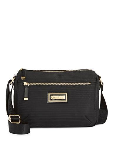 Calvin Klein Ripple Crossbody Bag-BLACK-One Size