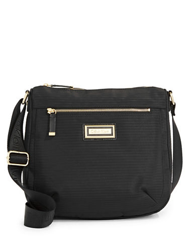 Calvin Klein Ripple Crossbody Bag-BLACK-One Size
