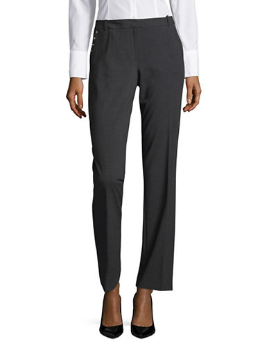 Calvin Klein Stud Trousers-GREY-2