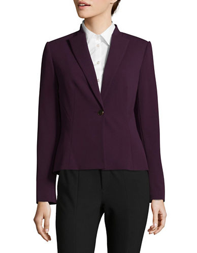 Calvin Klein Slim-Fit One-Button Jacket-PURPLE-2