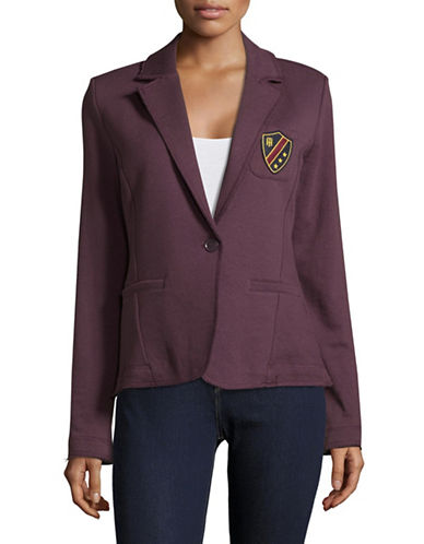 Tommy Hilfiger Casual Knit Blazer-PINOT-Small