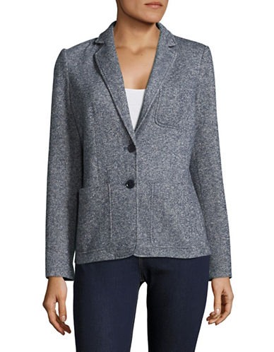 Tommy Hilfiger Window Print Blazer-BLUE-4