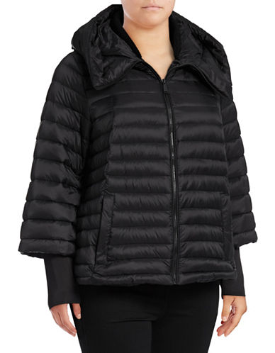 Calvin Klein Performance Plus  Down Swing Jacket-BLACK-3X 89672694_BLACK_3X