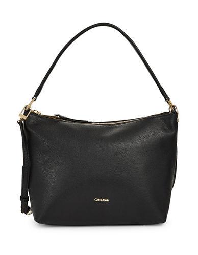 Calvin Klein Slouchy Pebble Tote-BLACK-One Size 89590307_BLACK_One Size