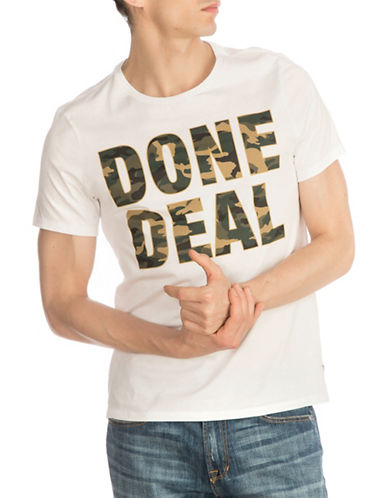 Guess Done Deal Cotton T-Shirt-WHITE-Small 89877014_WHITE_Small